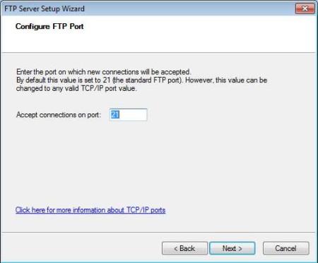 Quick 'n Easy FTP Server Lite setting up server