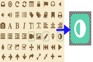icon fonts to png featured
