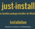 just install featured