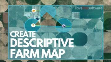 Online Farm Mapping Tool to Create Descriptive Farm Map
