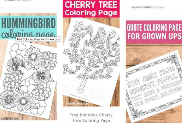 10 Websites with Free Printable Coloring Pages for Adults