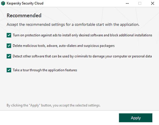 kaspersky security cloud free