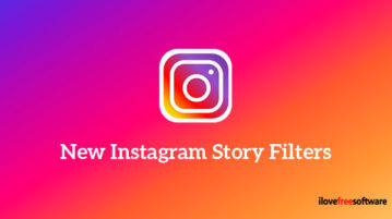 New Instagram story filters
