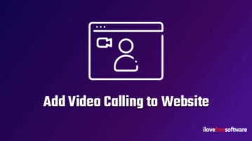 Add Video Calling to Website